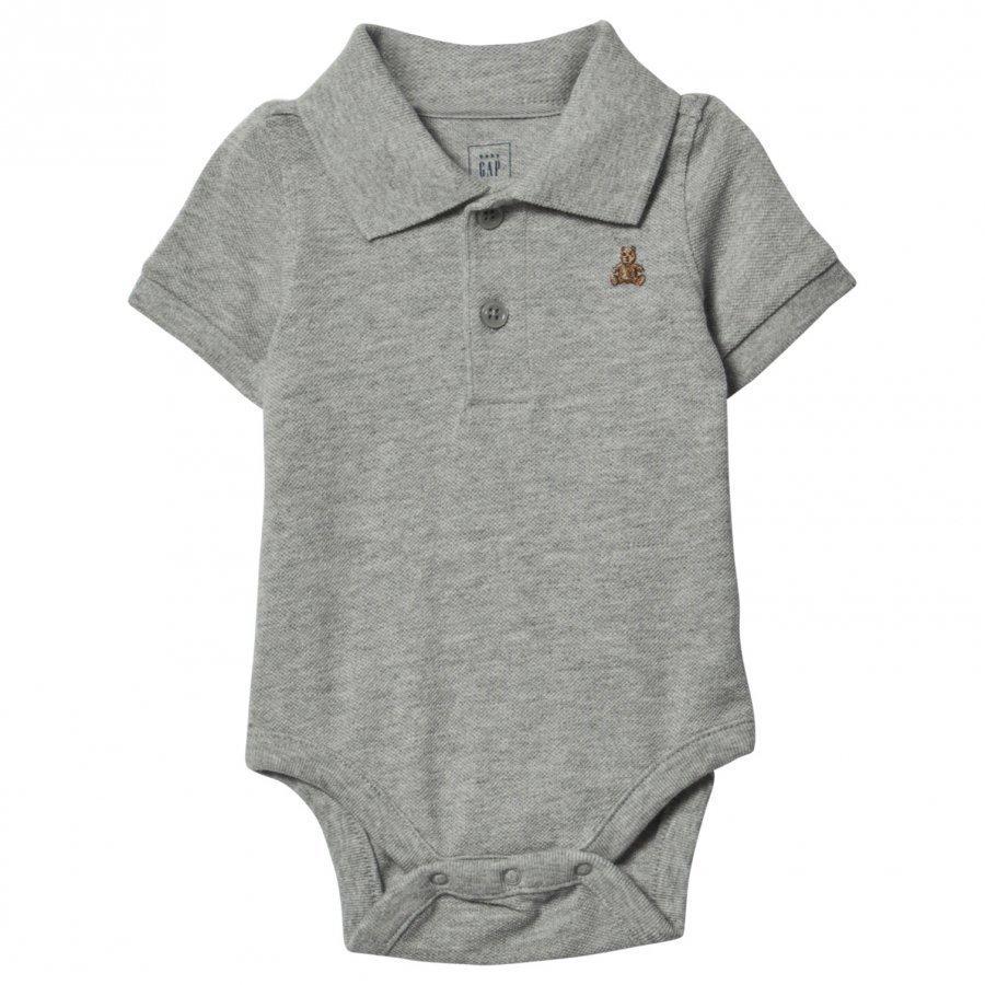 Gap Brannan Polo Baby Body Grey Pikeepaita