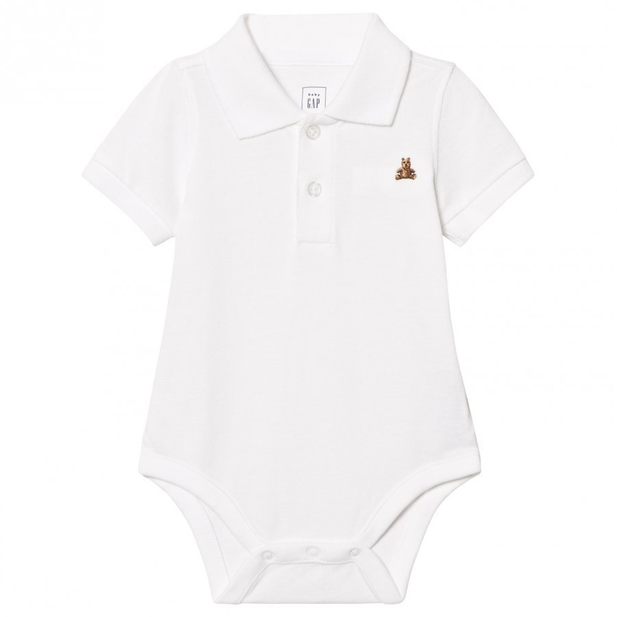 Gap Brannan Polo Baby Body White Pikeepaita