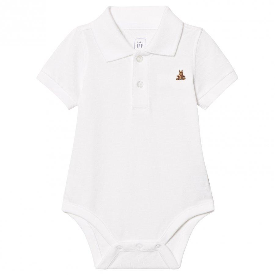 Gap Brannan Polo Baby Body White Pikeepaita