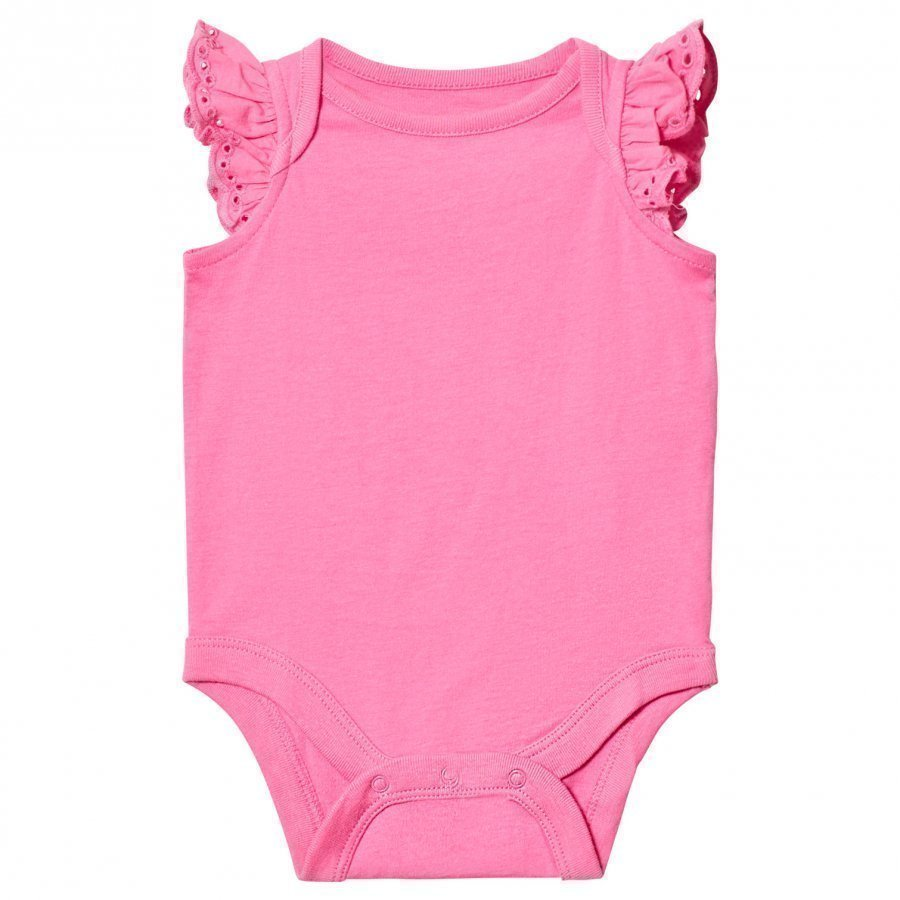 Gap Eyelet Flutter Body Pixie Dust Pink Body