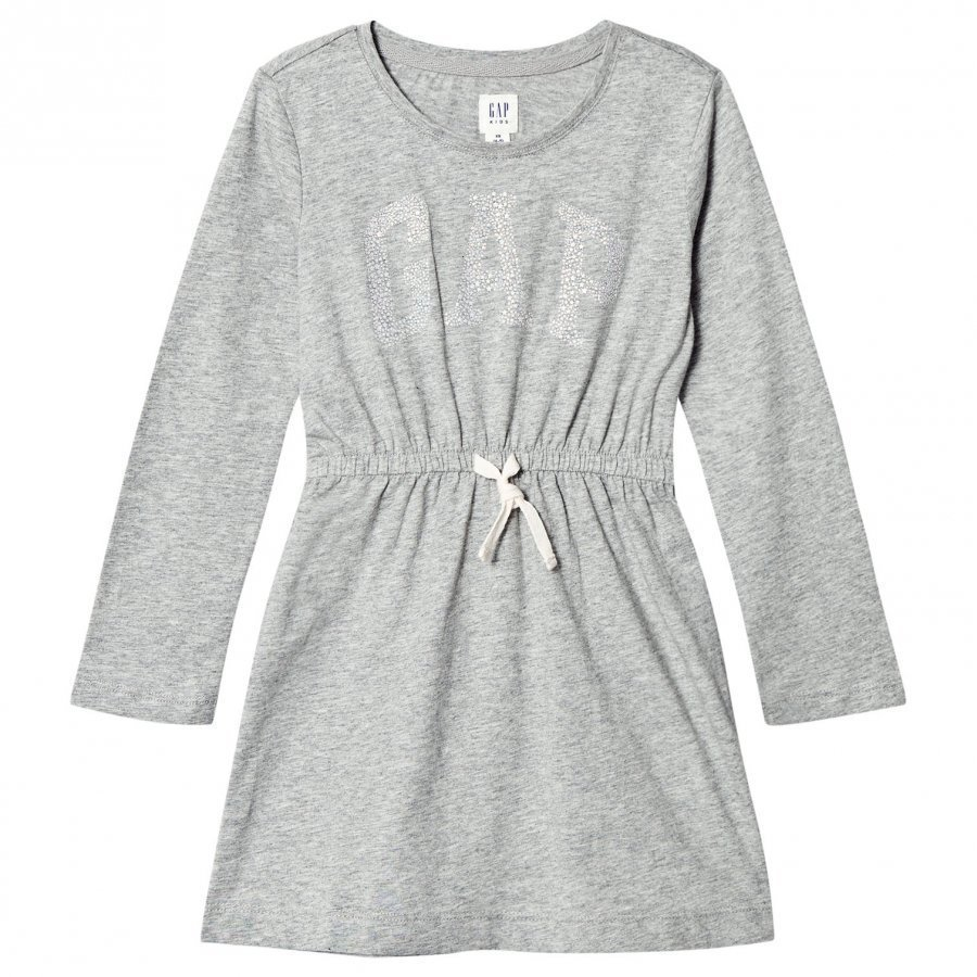 Gap Fr Ls Arch Drs Light Heather Grey B10 Mekko