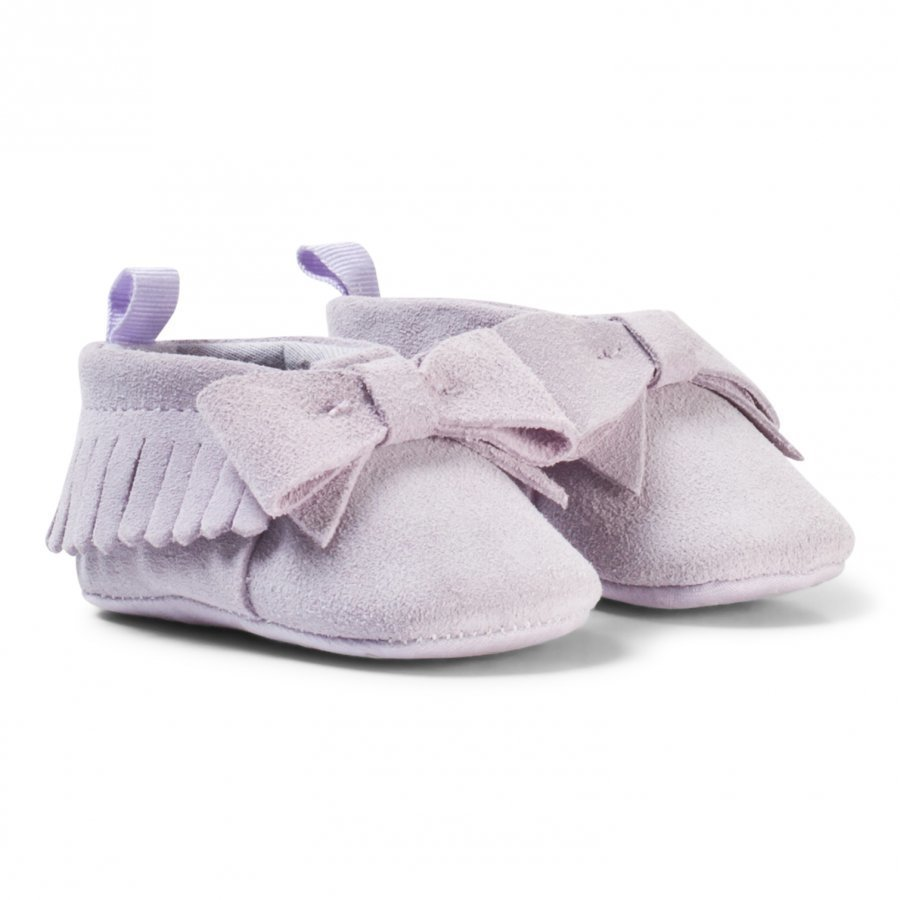 Gap Fringe Bow Moccasins Classic Lavender Vauvan Kengät