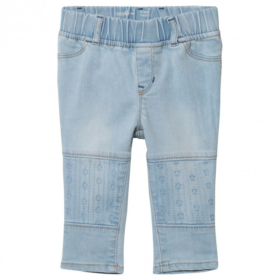 Gap High Stretch Embroidery Jeggings Easy Wash Farkut