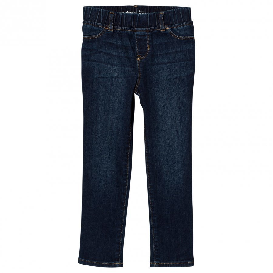 Gap High Stretch Jeggings In Dark Indigo Farkut