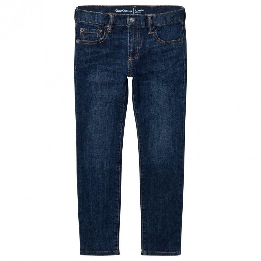 Gap High Stretch Skinny Jeans Dark Wash Farkut