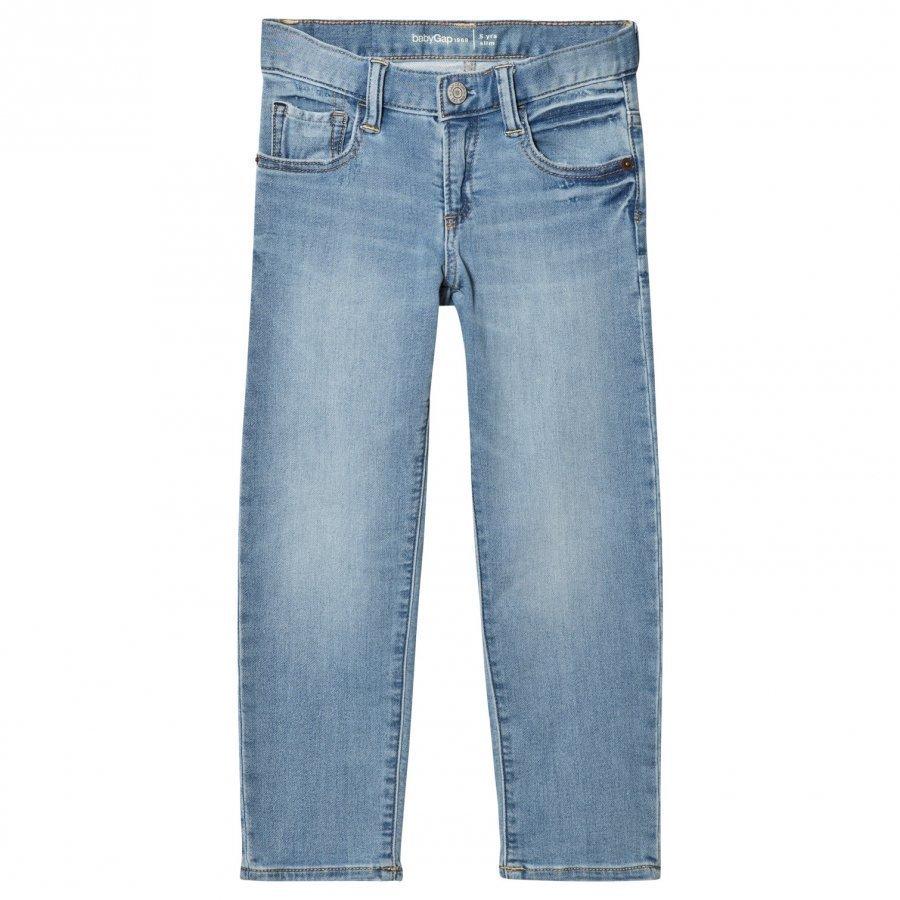 Gap High Stretch Super Soft Slim Jeans Light Wash Farkut