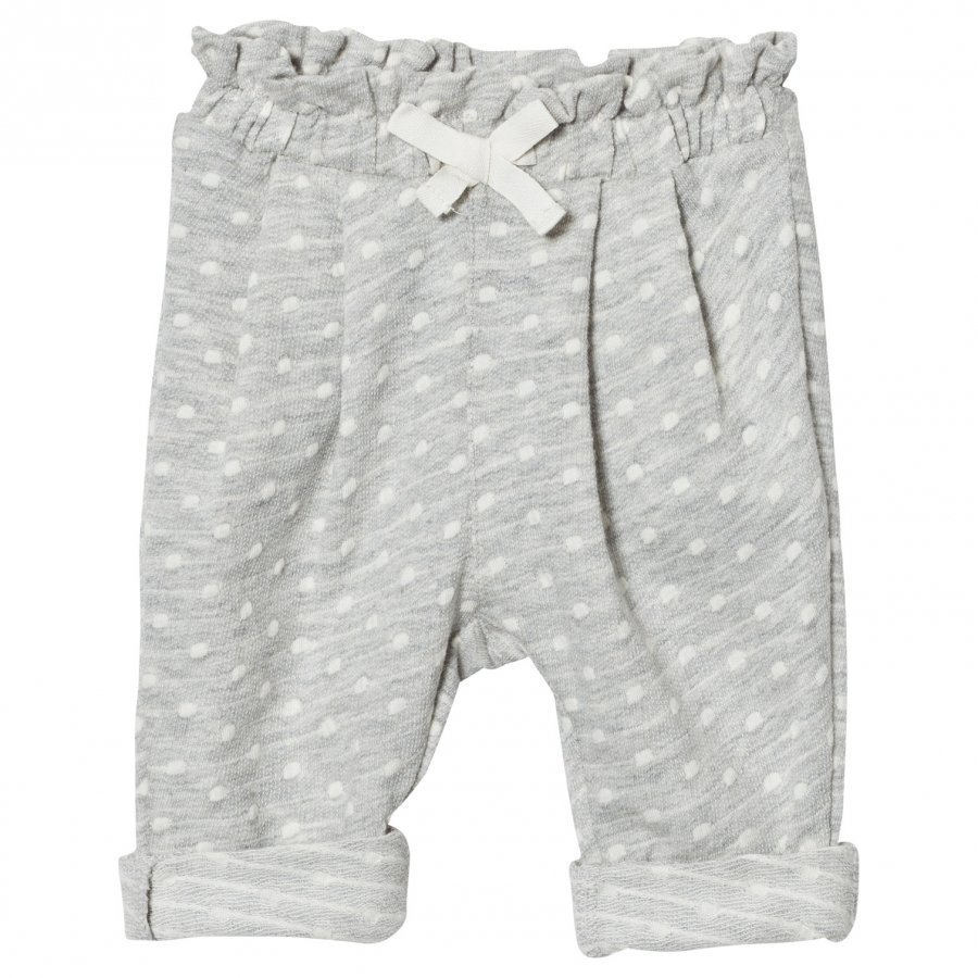 Gap Jacquard Dot Pants Light Grey Verryttelyhousut