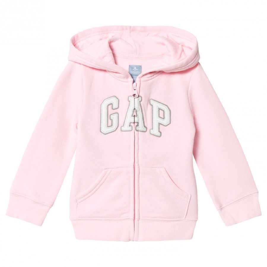 Gap Jan Logo Fz Old School Pink Huppari