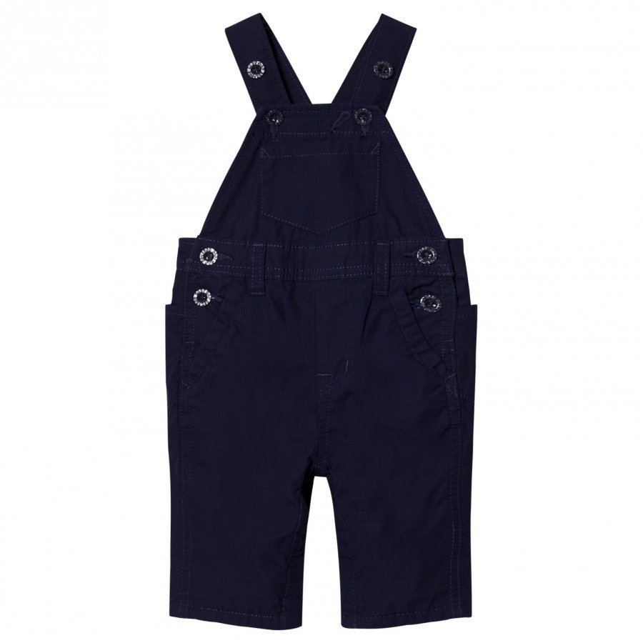 Gap Jersey Lined Overalls Navy Uniform Lappuhaalari
