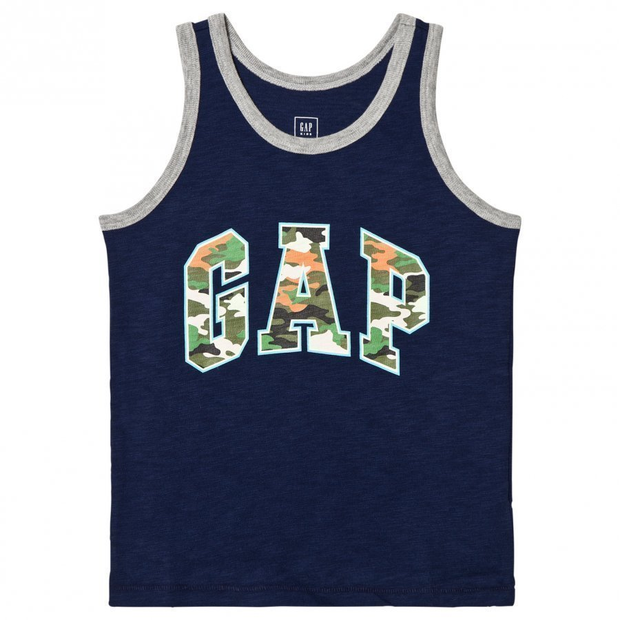 Gap Logo Slub Tank Elysian Blue Liivi