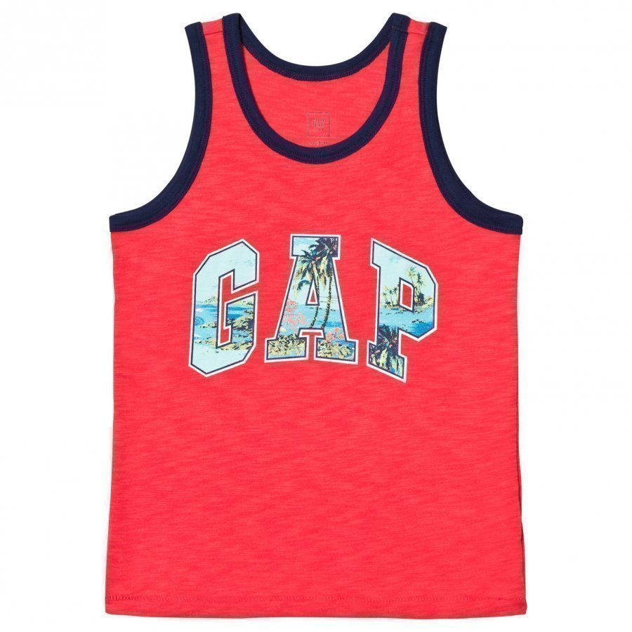 Gap Logo Slub Tank Hula Red Liivi