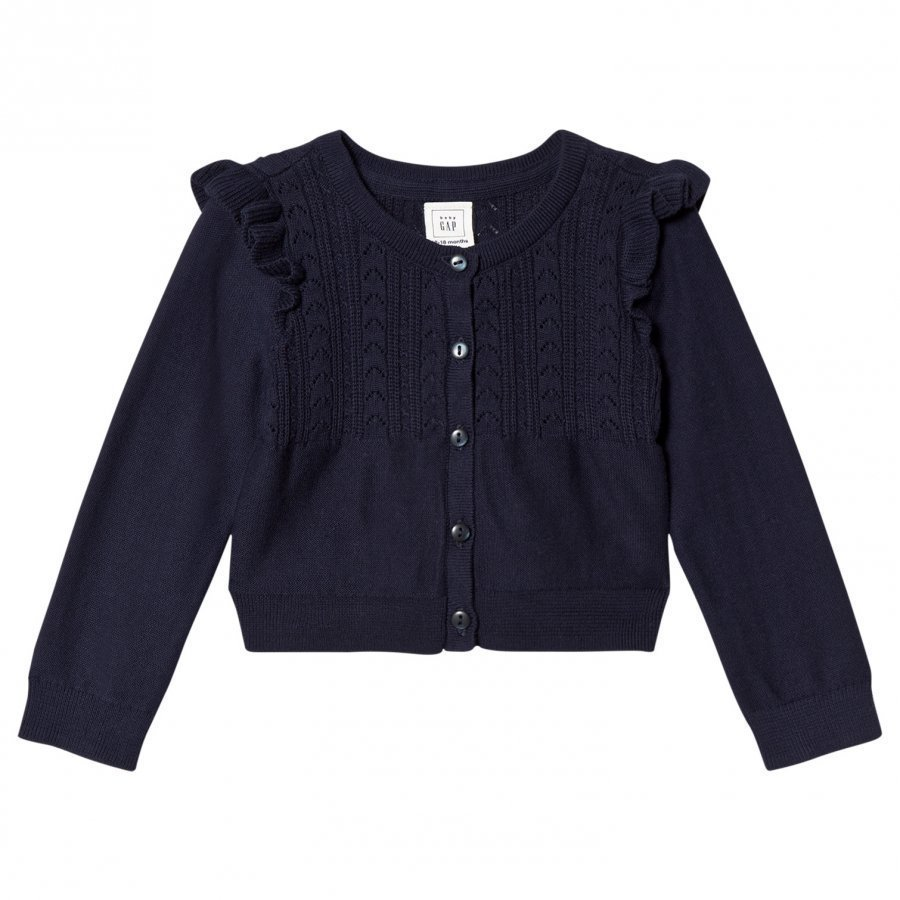 Gap Oc Layer Cardi Navy Uniform Neuletakki
