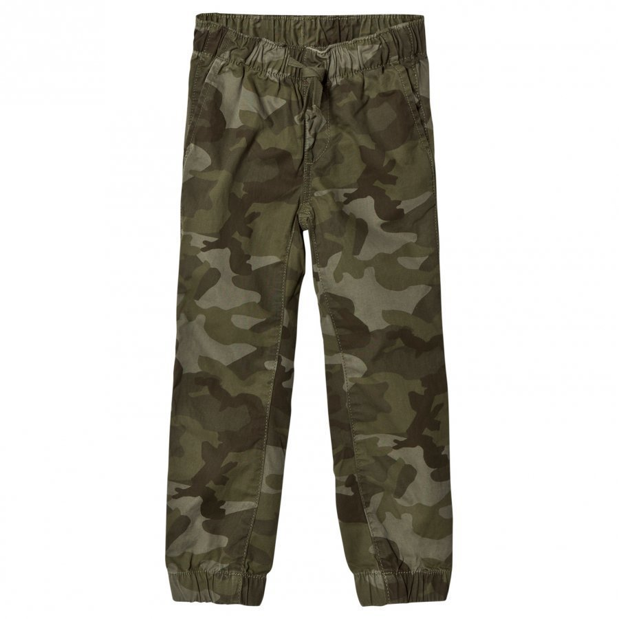 Gap Opp Jogger Green Camo Housut