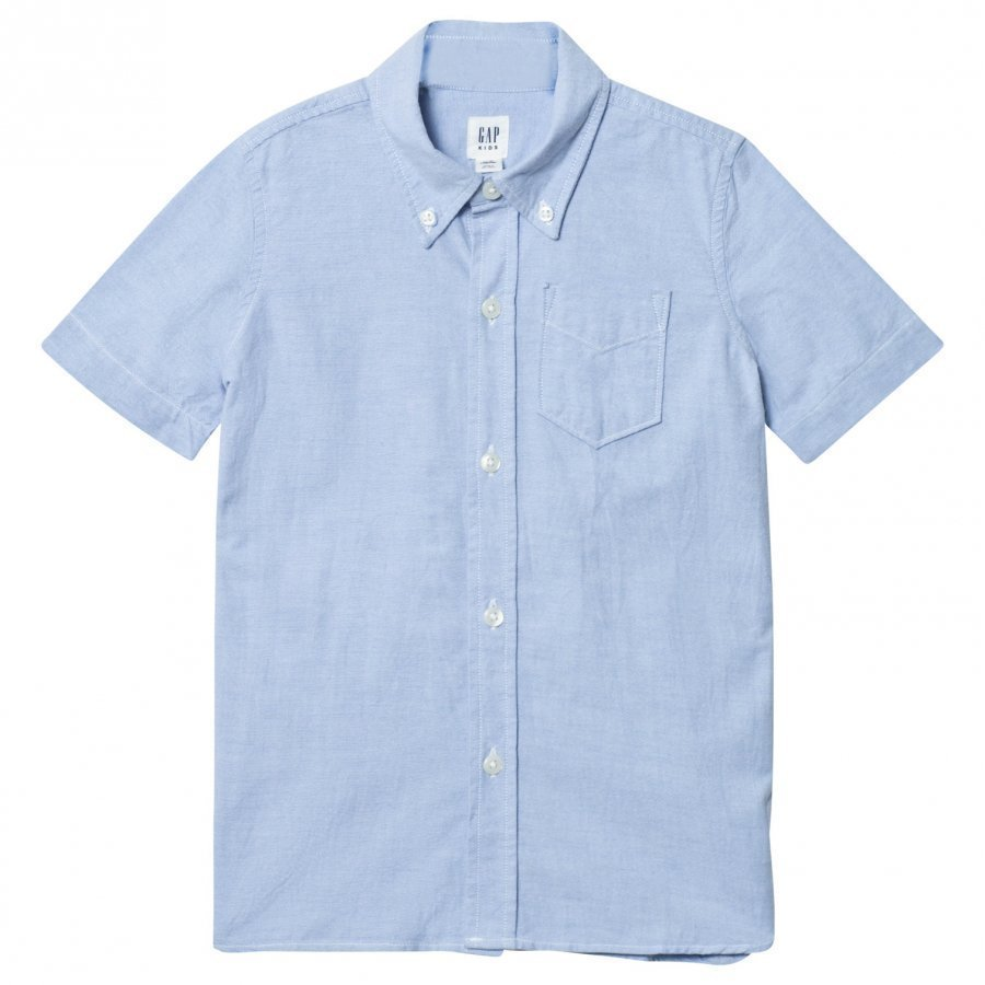 Gap Oxford Shirt Blue Kauluspaita