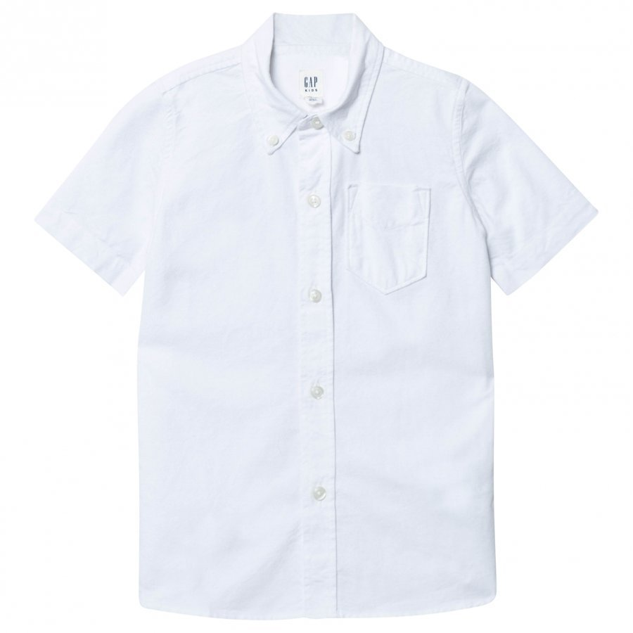 Gap Oxford Shirt White Kauluspaita