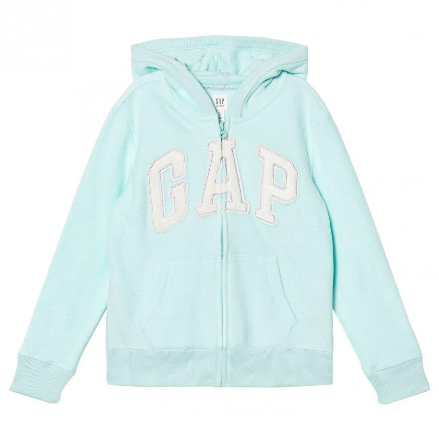 Gap Pf Hood Bleached Aqua Huppari