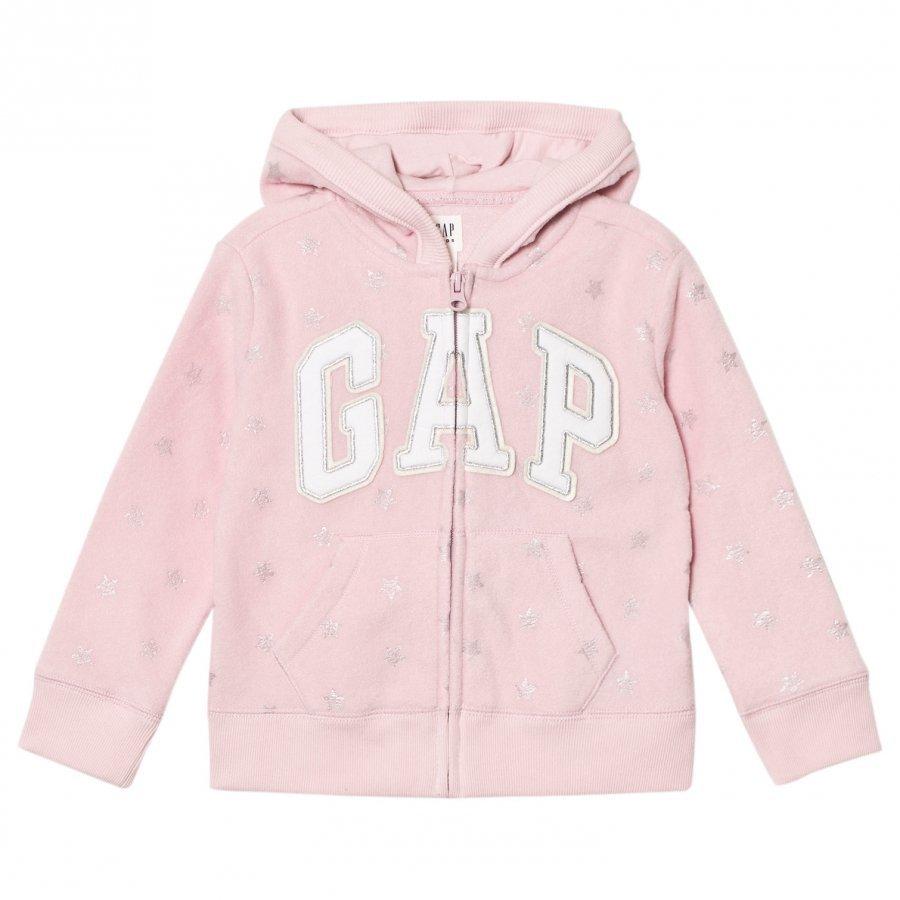 Gap Pf Hood Pink Standard Huppari
