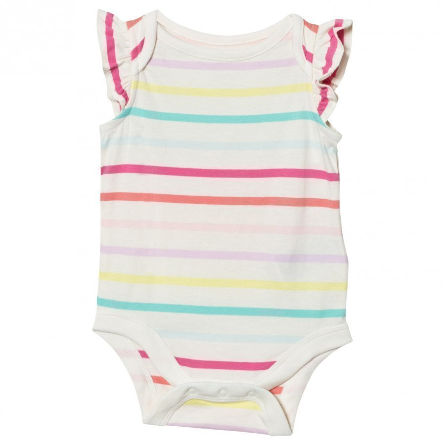 Gap Print Flutter Body Multi Stripe Body