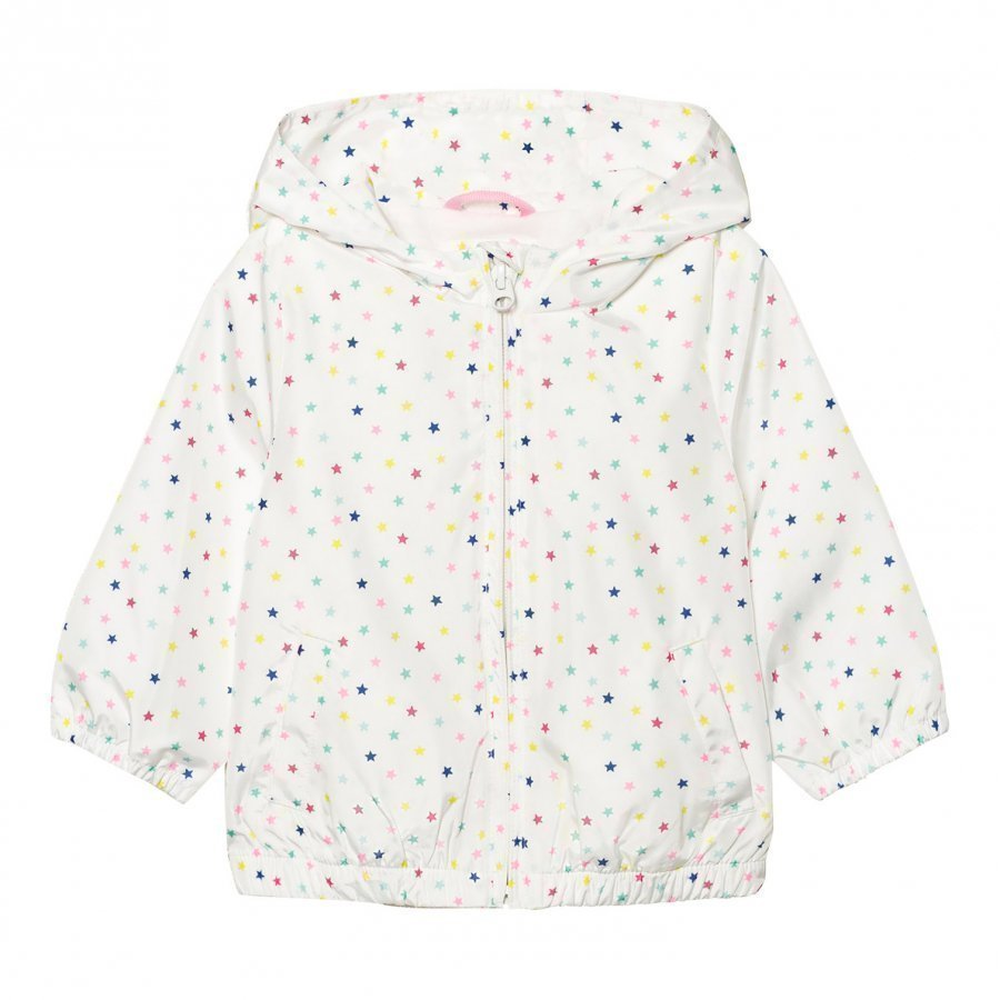 Gap Print Windbreaker White Multi Tuulitakki