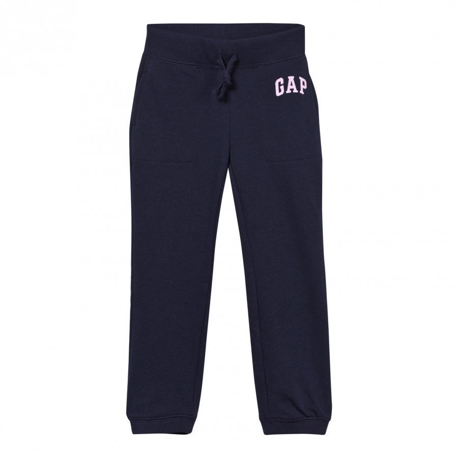 Gap Shimmer Waist Logo Sweats Blue Galaxy Verryttelyhousut