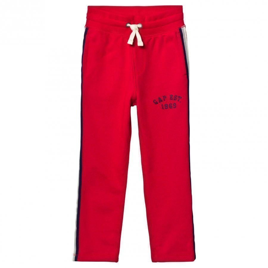 Gap Slim Side-Stripe Sweats Pure Red Verryttelyhousut