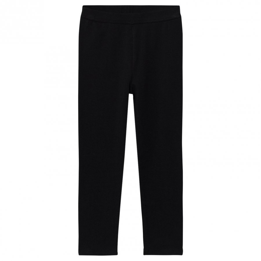 Gap Stretch Jersey Capris True Black Legginsit