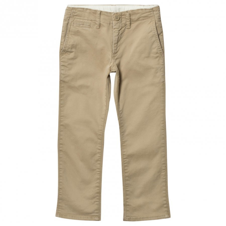 Gap Stretch Khaki Beige Chinos Housut