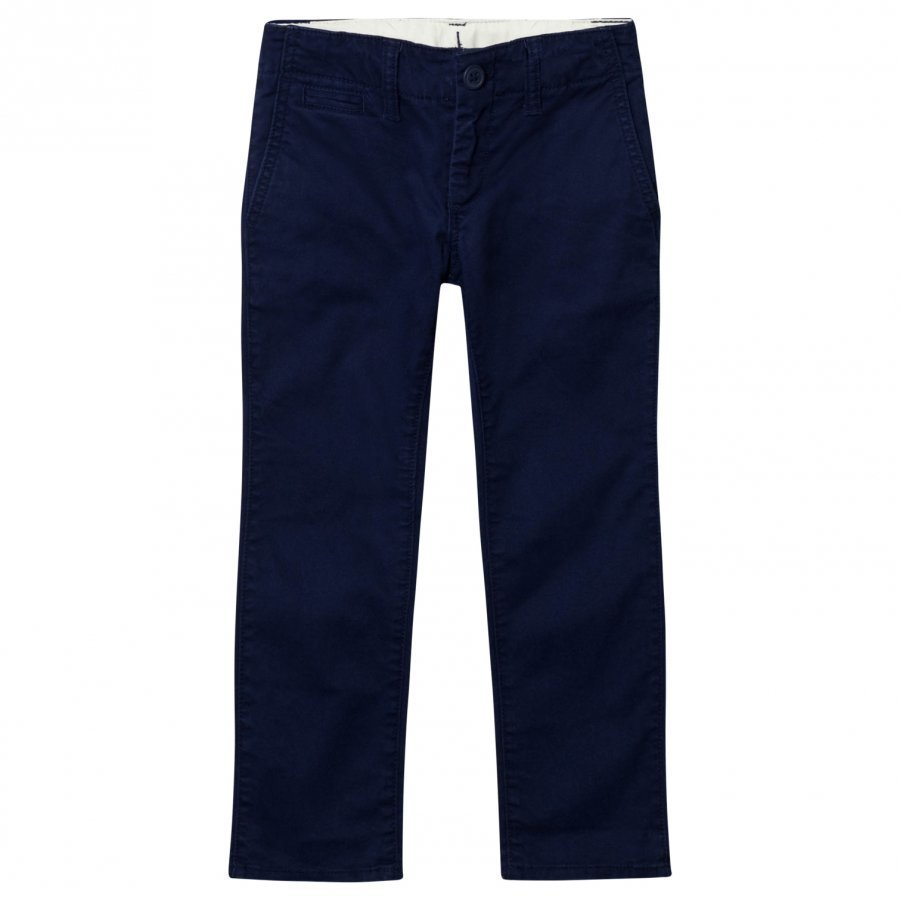 Gap Stretch Khaki Navy Uniform Chinos Housut