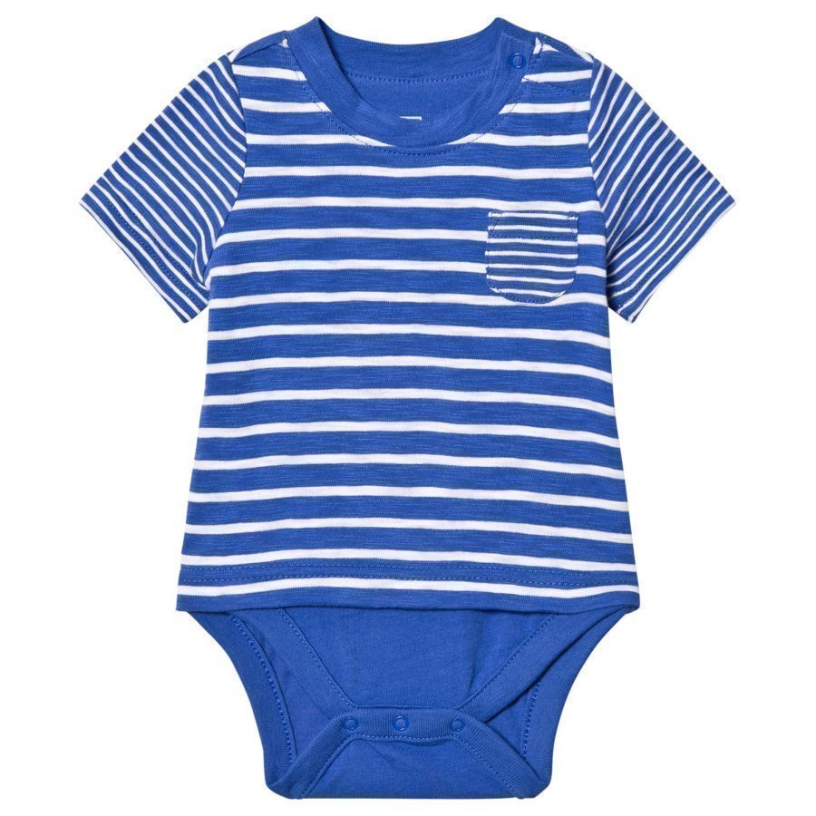 Gap Striped Pocket Double Body Matisse Blue Body