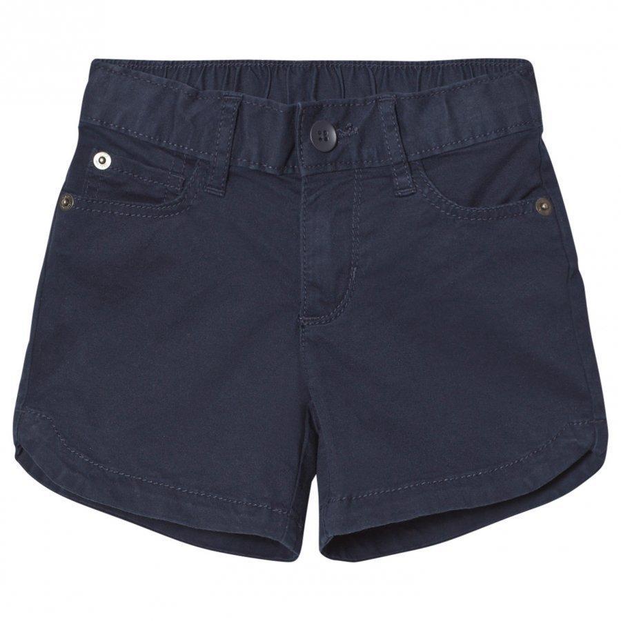 Gap Twill Midi Shorts Blue Galaxy Juhlashortsit