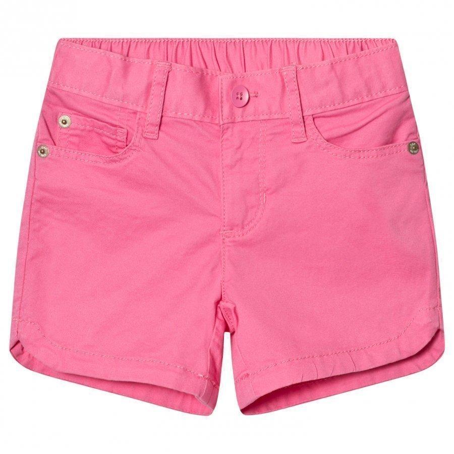 Gap Twill Midi Shorts Pixie Dust Pink Juhlashortsit