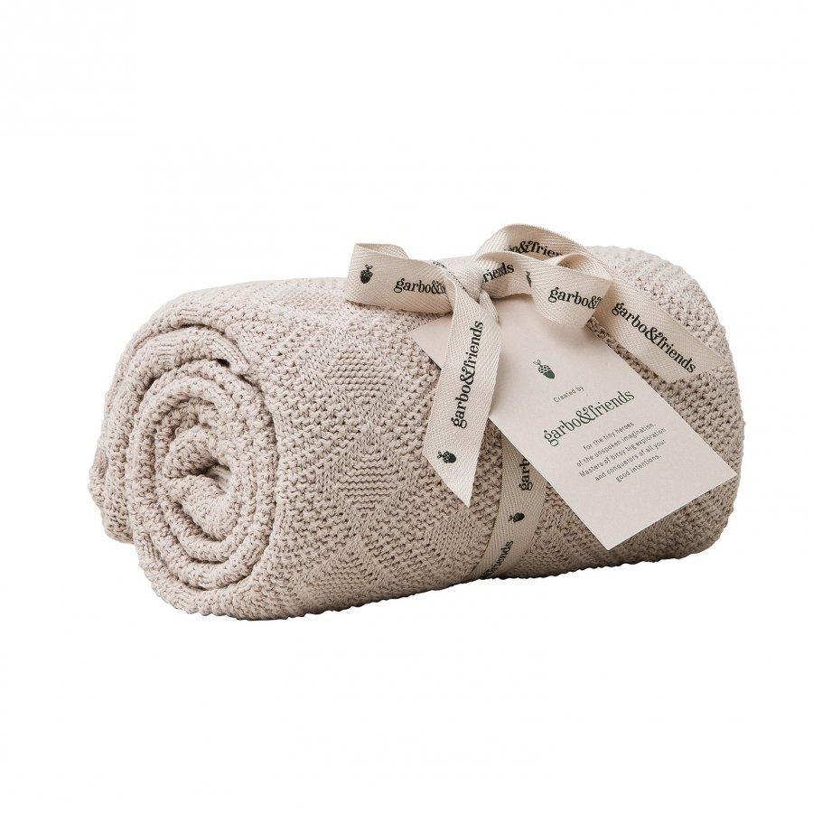 Garbo & Friends Ollie Pink Cotton Blanket Huopa