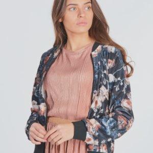 Garcia Girls Sweat With Floral Print Neule Kirjava