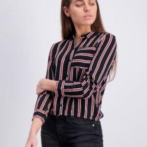 Garcia Shirt Long Sleeve Kauluspaita Musta