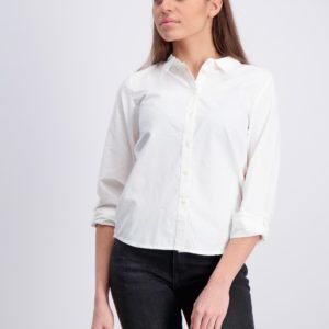 Garcia Shirt Long Sleeve Kauluspaita Valkoinen
