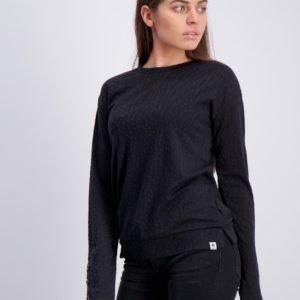 Garcia T Shirt Long Sleeve T-Paita Musta