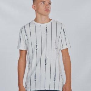 Garcia T Shirt Ss T-Paita Valkoinen