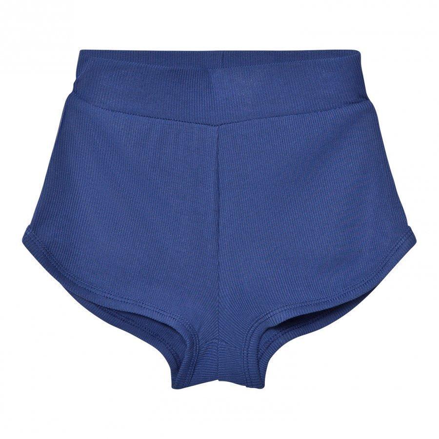 Gardner And The Gang Classic Shorts Modal Navy Blue Juhlashortsit