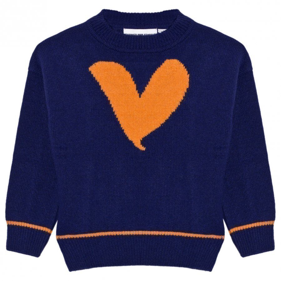 Gardner And The Gang Knitted Sweater Blue Paita