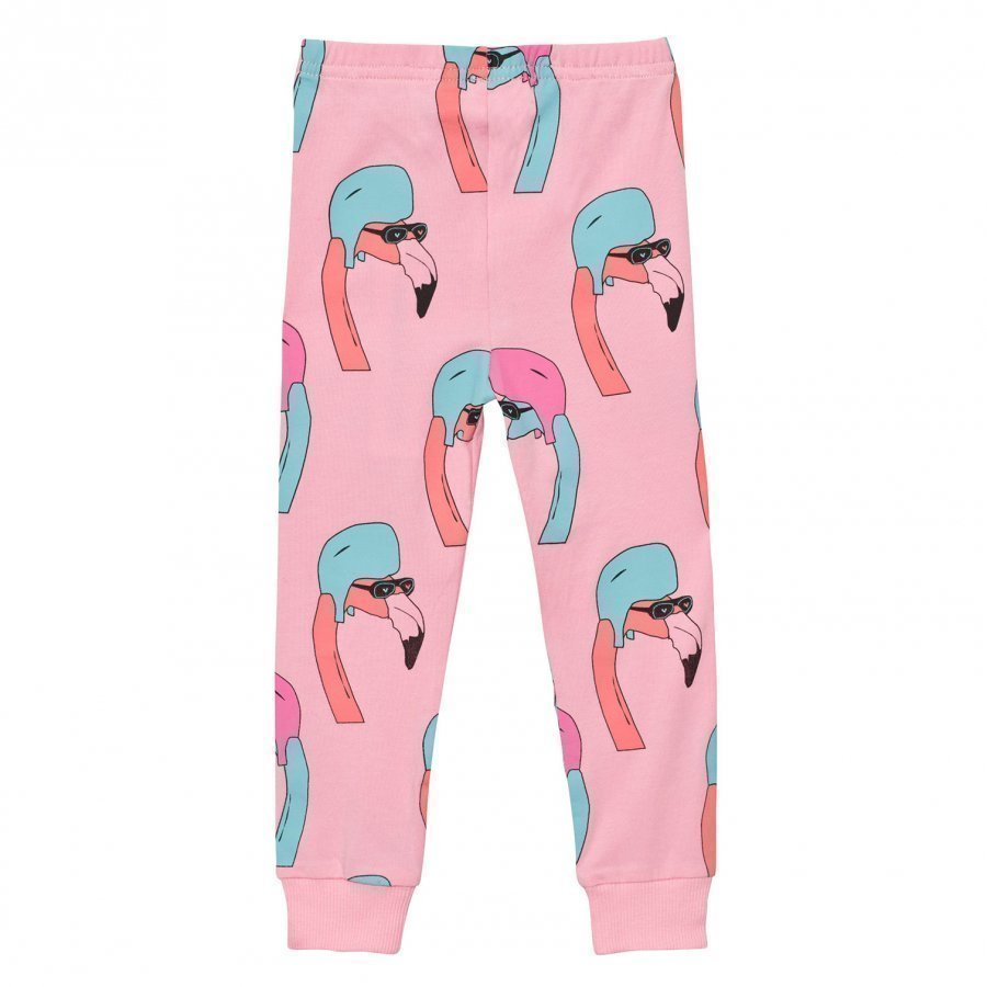 Gardner And The Gang Leggings Helmut Flamingo Candy Pink Legginsit