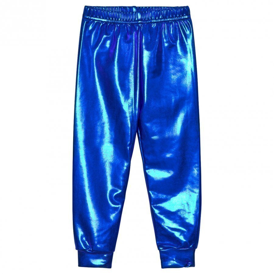 Gardner And The Gang Metallic Leggings Blue Legginsit