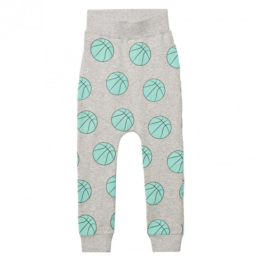 Gardner And The Gang Slouchy Pants Basketball Heather Grey Verryttelyhousut