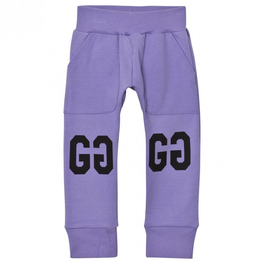 Gardner And The Gang Slouchy Pants Purple Housut