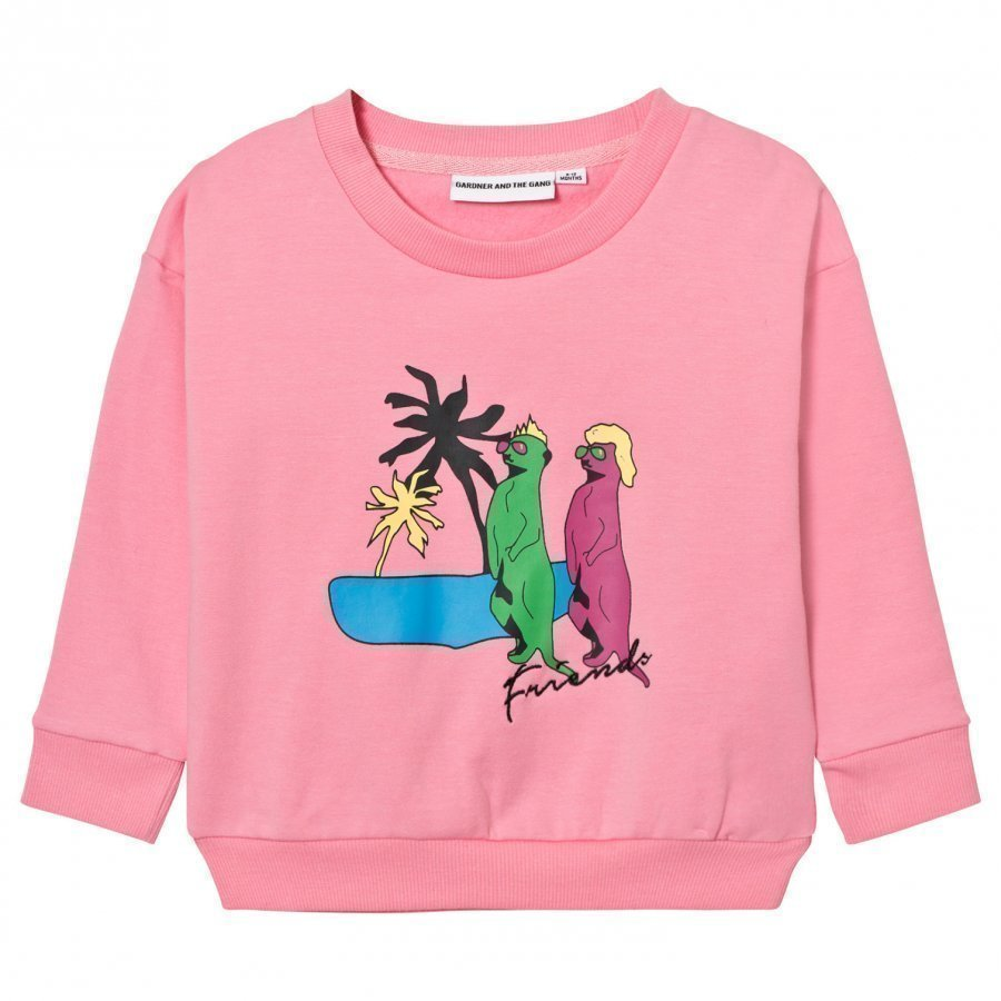 Gardner And The Gang The Classic Sweatshirt Candy Pink Oloasun Paita