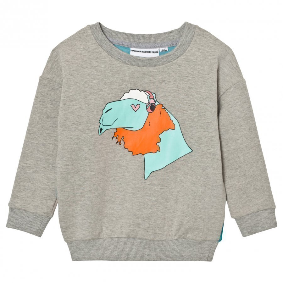 Gardner And The Gang The Classic Sweatshirt Grey/Blue Oloasun Paita