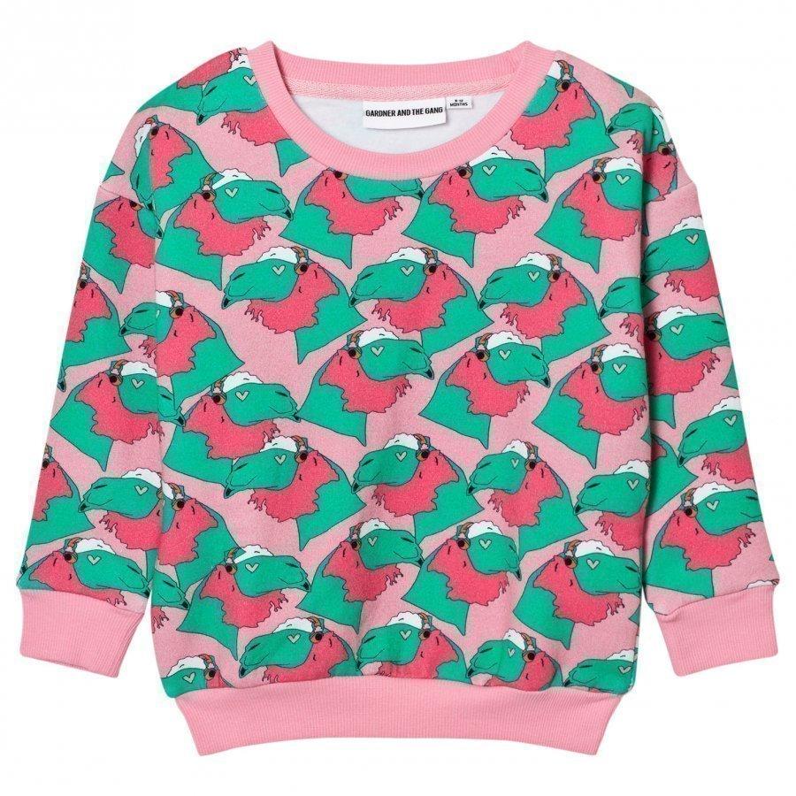Gardner And The Gang The Classic Sweatshirt Pink Oloasun Paita
