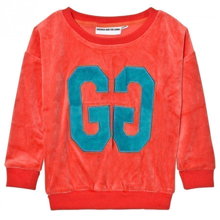 Gardner And The Gang The Classic Sweatshirt Pinky Orange Oloasun Paita