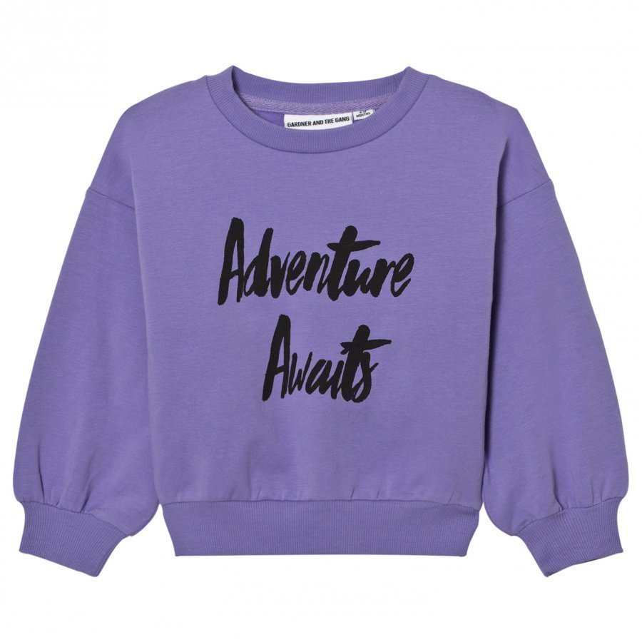 Gardner And The Gang The Classic Sweatshirt Purple Oloasun Paita