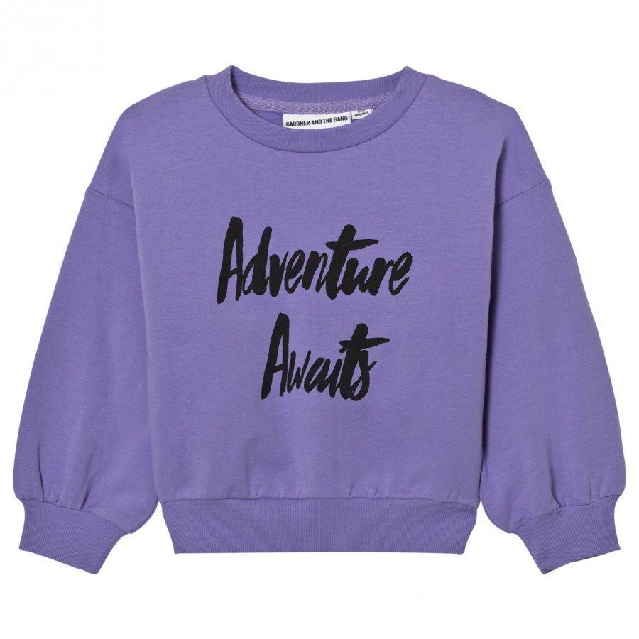 Gardner And The Gang The Classic Sweatshirt Purple Oloasun Paita