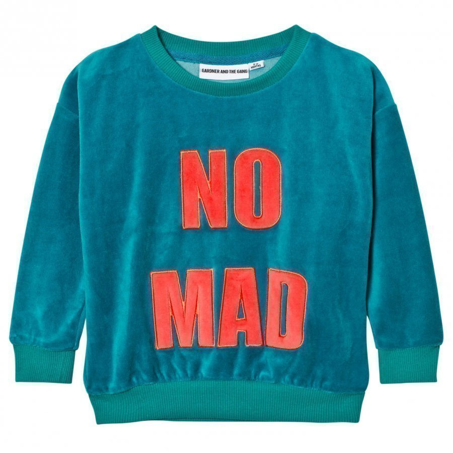 Gardner And The Gang The Classic Sweatshirt Teal Blue Oloasun Paita